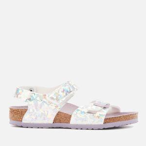 Birkenstock Kids' Colorado Sandals - Hologram Silver Lavender - EU 31/UK 13 Kids