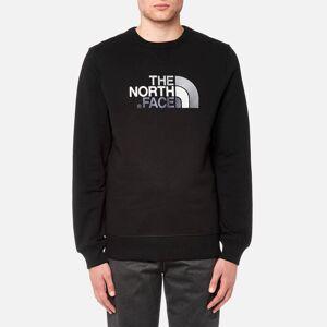 The North Face Men's Drew Peak Crew Neck Sweatshirt - TNF Black - M