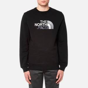 The North Face Men's Drew Peak Crew Neck Sweatshirt - TNF Black - XXL