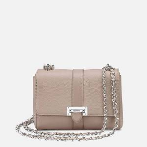 Aspinal of London Women's Lottie Small Bag - Soft Taupe