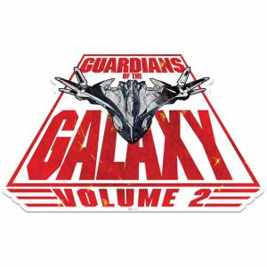 Star Cutouts Marvel Guardians of the Galaxy Spaceship Milano Wall Art