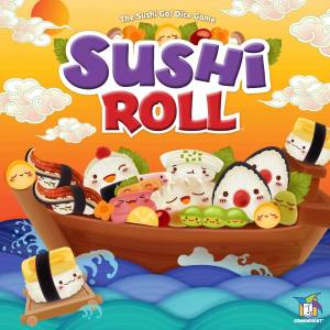 Gamewright Sushi Roll Board Game