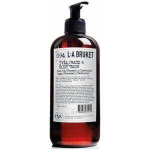 L:A BRUKET No. 094 Hand & Body Wash 450ml - Sage/Rosemary/Lavender
