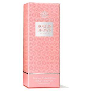 Molton Brown Delicious Rhubarb & Rose Vibrant Body Oil 100ml