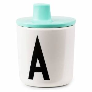 Design Letters Kids' Collection Drink Lid - Turquoise