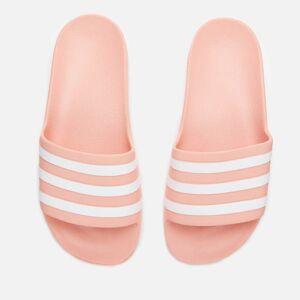 adidas Women's Adilette Aqua Slide Sandals - Dust Pink - UK 8