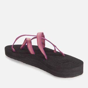 Teva Women's Olowahu Sandals - Antiguous Red Plum - UK 7