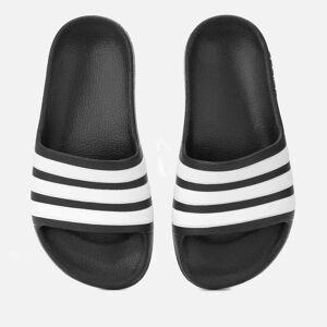 adidas Kids' Adilette Aqua Slide Sandals - Black - UK 1 Kids - Black
