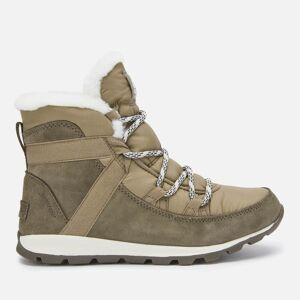 Sorel Women's Whitney Flurry Waterproof Suede/Leather Hiking Style Boots - Major - UK 8