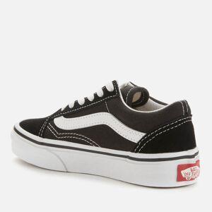 Vans Kids' Old Skool Trainers - Black/True White - UK 13 Kids