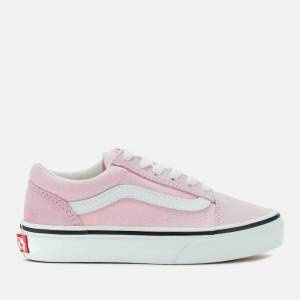 Vans Kids' Old Skool Trainers - Lilac Snow/True White - UK 11 Kids