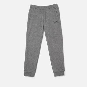 Emporio Armani Boys' Train Core ID Coft Pants - Dark Grey Melange - 6 Years