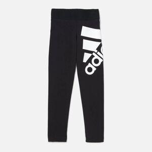 adidas Girls' Young Girls BOS Tights - Black - 5-6 Years