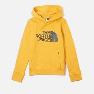 The North Face Boys' Youth Drew Peak Pull Over Hoody - TNF Yellow - XS