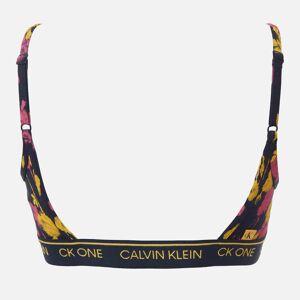 Calvin Klein Women's Unlined Bralette - Sweet Rosie Print - S