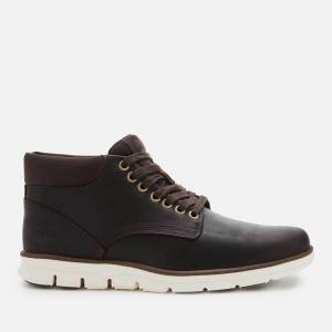 Timberland Men's Bradstreet Chukka Leather Boots - Dark Brown Full Grain - UK 9