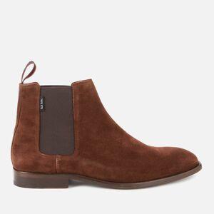 PS Paul Smith Men's Gerald Suede Chelsea Boots - Chocolate - UK 10