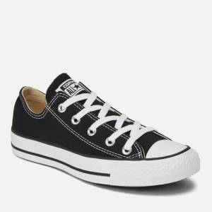 Converse Chuck Taylor All Star Ox Trainers - Black - UK 6