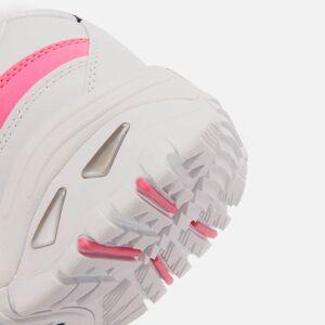 Skechers Women's Energy Over Joy - White/Pink - UK 3