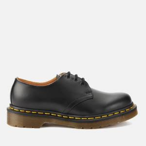 Dr. Martens 1461 Smooth Leather 3-Eye Shoes - Black - UK 6