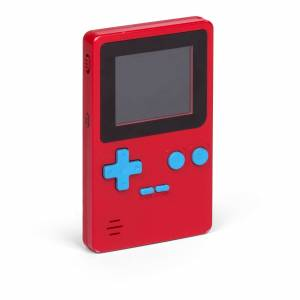 Thumbs Up Orb Retro Handheld Console - Red