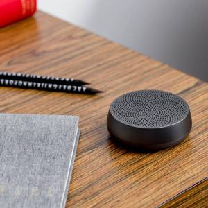 Lexon MINO L Bluetooth Speaker - Gun Metal