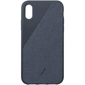 Native Union Clic Canvas iPhone Xs Max Case - Navy