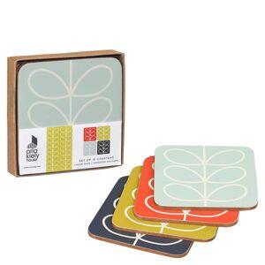 Orla Kiely Coasters Linear Stem (Set of 4)