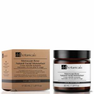 Dr Botanicals Moroccan Rose Natural Facial Moisturiser 50ml