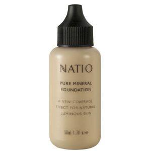 Natio Pure Mineral Foundation - Light (50ml)