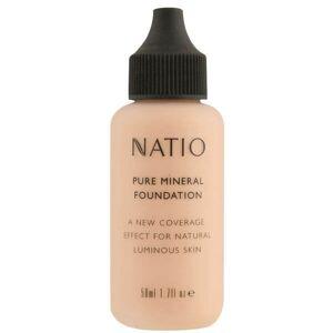 Natio Pure Mineral Foundation - Light Medium (50ml)