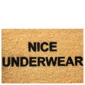 Artsy Doormats Nice Underwear Doormat