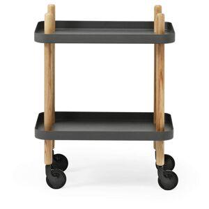 Normann Copenhagen Table Trolley - Dark Grey
