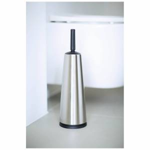 Brabantia Toilet Brush and Holder - Classic Matt Steel
