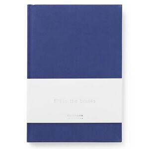 Normann Copenhagen Notebook - Ink Blue