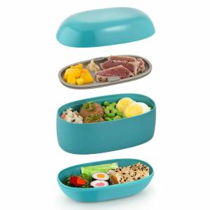 Alessi Lunch Box Food à Porter - Blue