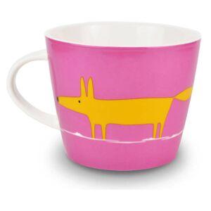 Scion Mr Fox Mug - Pink/Orange