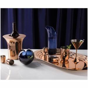Tom Dixon Plum Tray - Copper Plated