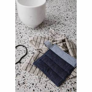 Ferm Living Denim Pot Holders - Blue (Set of 2)