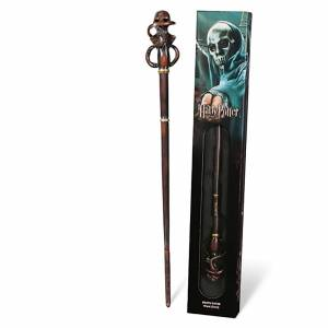 Noble Collection Harry Potter Death Eater's Swirl Wand with Window Box