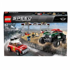 Lego Speed Champions: Mini Cooper Rally & Buggy Car Toys (75894)