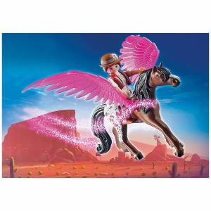 Playmobil The Movie Marla and Del with Flying Horse (70074)