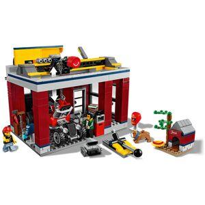 Lego City: Nitro Wheels Tuning Workshop Building Set (60258)