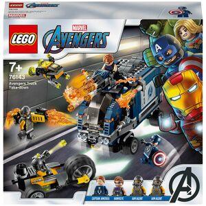 Lego Super Heroes: Marvel Avengers Truck Take-down Set (76143)