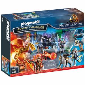 Playmobil Knights Novelmore Castle Advent Calendar (70187)