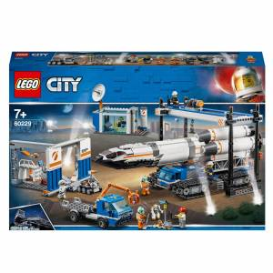 Lego City: Rocket Assembly and Transport Space Port (60229)