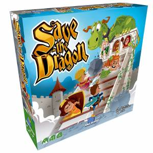 Blue Orange Save the Dragon Board Game