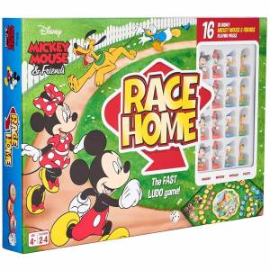 Cartamundi Disney Mickey & Friends Race Home Board Game