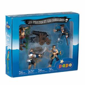 Papo Pirates and Corsairs: Pirates Gift Box (5 Figurines)