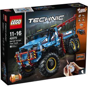 Lego Technic: 6x6 Remote Control All Terrain Tow Truck (42070)